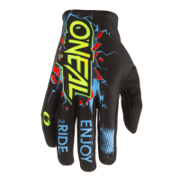 GUANTES ONEAL NEGRO Y AZUL INFANTIL
