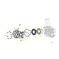 BENELLI BN 125 // (CHASIS) T006 DECKEL DES DREHSTROMGENERATORS