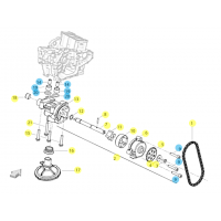 BENELLI 502C // (MOTOR) T012 LUBRICACIÓN