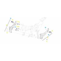 BENELLI 502C // (CHASIS)  T025 ESTRIBERAS TRASERA