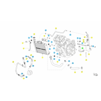 BENELLI 502C // (CHASIS) T021 CIRCUITO REFRIGERADOR